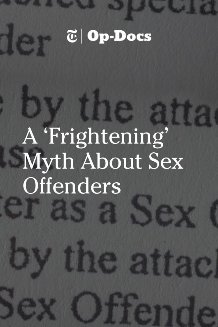 myths and facts about sex offenders
